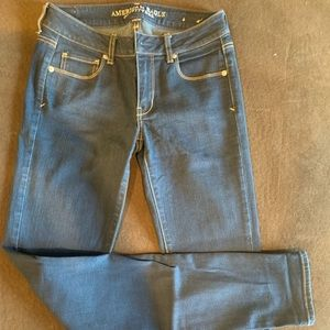 American Eagle skinny jeans size 4 extra long